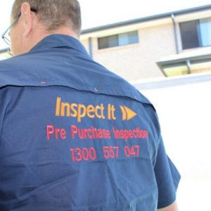 Inspect It First - Official Rear Inspector Logo