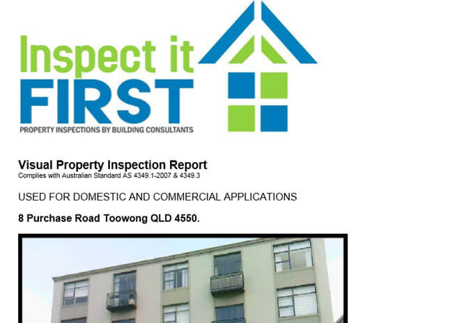 Inspect It First - PDF Image Visual Property Inspection Reports